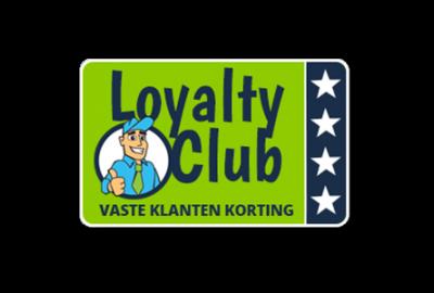 Loyaliteits kortingen sparen !