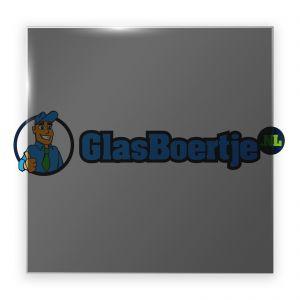AGC Dark Grey gehard glas 10 mm