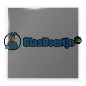 AGC Dark Grey gehard glas 6 mm