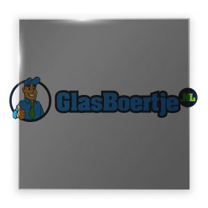 AGC Dark Grey gehard glas 8 mm