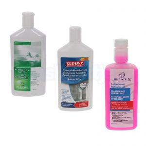 Clean-X invisible shield startpakket, 3 flacons van 300 ml