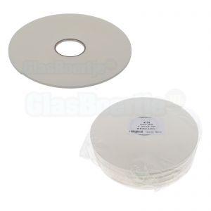 Coroplast beglazingsband 6x3 mm, wit, vanaf 25 meter