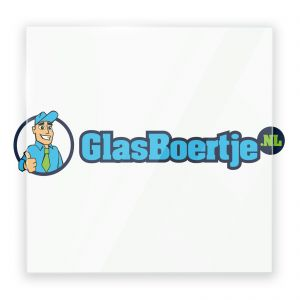 Extra helder glas 8 mm