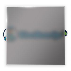 Grijs satijnglas 10 mm