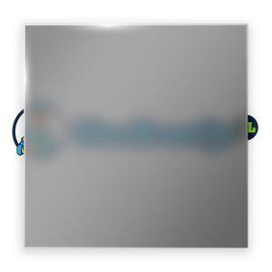 Grijs satijnglas 8 mm