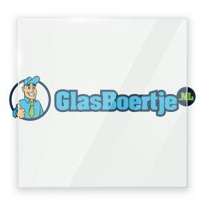 Installatie hardglas 12 mm