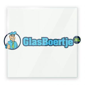 Installatie hardglas 6 mm