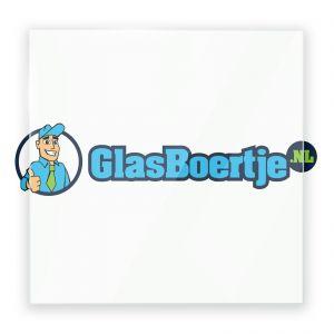 Installatie hardglas extra helder 6 mm