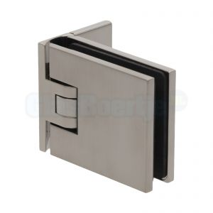 Pauli+Sohn Flamea 8180ZNPVD22 douchedeurscharnier met enkelvoudige montageplaat, RVS effect - aanzicht
