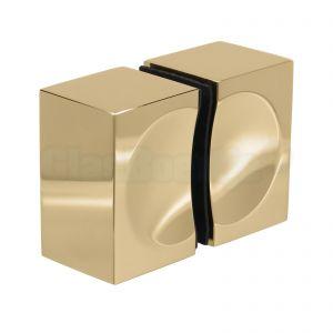 Pauli + Sohn Flamea + dubbele douchedeurknop, 8278MSPVD20-A, glanzend goud