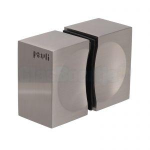 Pauli + Sohn Flamea + dubbele douchedeurknop, 8278MSPVD22, RVS effect