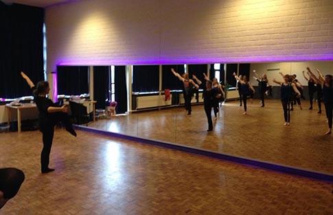 LED spiegelwand bij Dansant ! Zwijndrecht